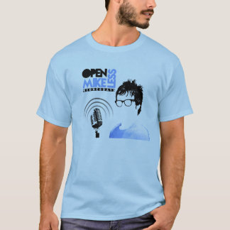 Open Mikeless Tshirt Blue With Tour Dates