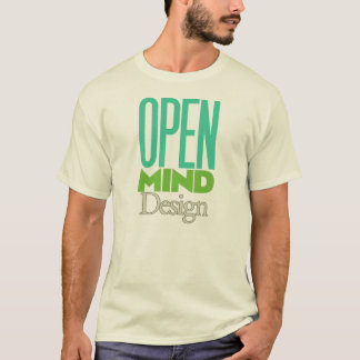 Open Mind Design T-Shirt