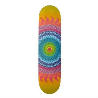 open mind mandala skateboard deck