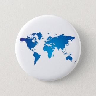 Open Mind World Sign Round Button