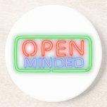 Open Minded Beverage Coaster
