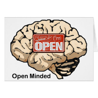Open Minded Card