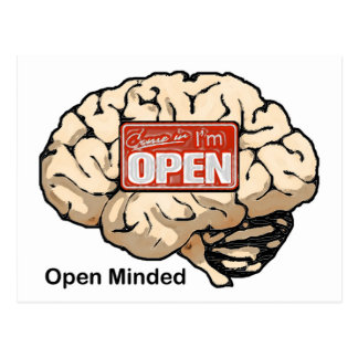 Open Minded Postcards
