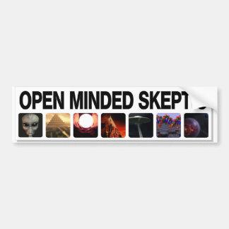 Open Minded Skeptic Bumper Sticker