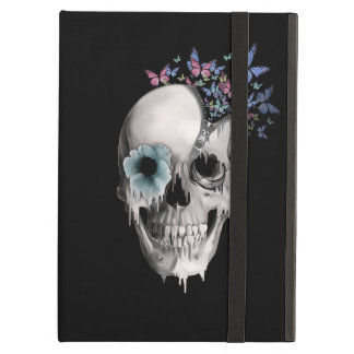 Open Minded Sugar Skull iPad Air Cover