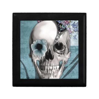 Open Minded Sugar Skull Jewelry Box