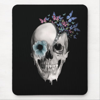 Open Minded Sugar Skull Mouse Pad