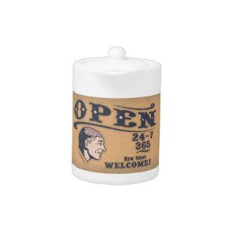 Open Minded Teapot