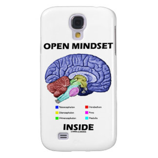 Open Mindset Inside (Anatomical Brain) Samsung Galaxy S4 Cover
