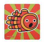 Hand shaped Open Mouth Baby Clown Fish Puzzle Coaster