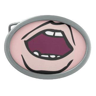 Open Mouth Belt Buckle