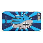 Hand shaped Open Mouth Blue Shark Barely There iPhone 6 Case