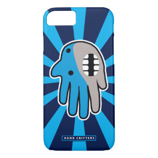 Open Mouth Blue Shark iPhone 7 Case
