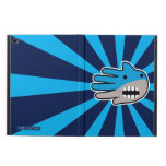 Hand shaped Open Mouth Blue Shark Powis iPad Air 2 Case