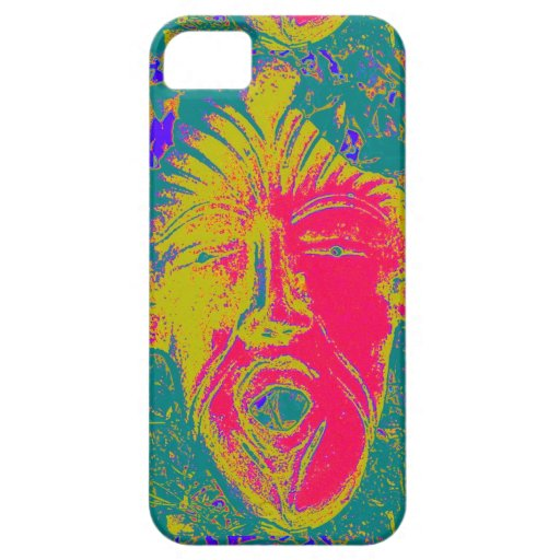 open mouth mask case iPhone 5/5S cover