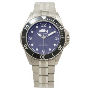 Open ocean blue dive watch