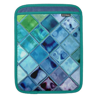 Open Ocean colorful unique ipad sleeve