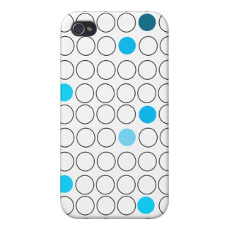 Open Ocean Dots Pern for 4 Cover For iPhone 4