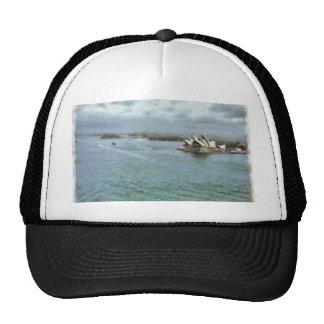 Open ocean in front of Sydney Opera House Trucker Hat