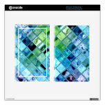 Open Ocean mosaic glass tiles kindle reader skin