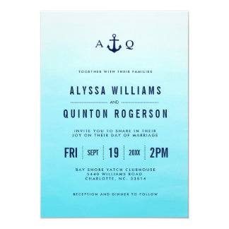 Open Ocean Nautical | Wedding Invitations