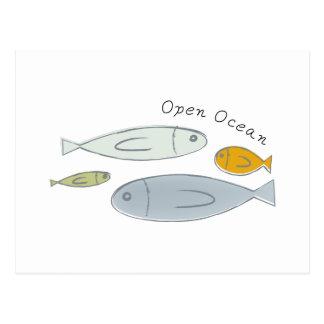 Open Ocean Postcard