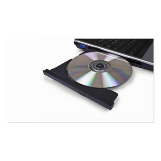 open optical disk drive, cd, dvd, blu-ray business cards
