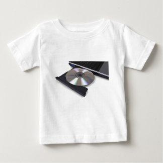 open optical disk drive, cd, dvd, blu-ray tee shirt