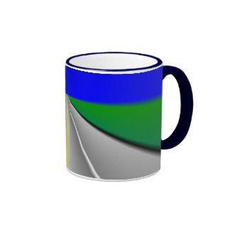 Open road/Highway background Coffee Mug