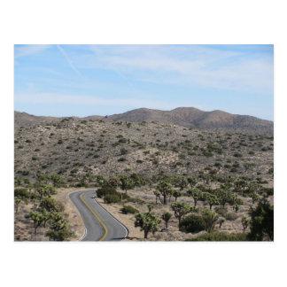 Open Road- Joshua Tree Postcard