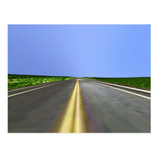 Open Road Postcard