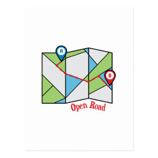 Open Road Postcard