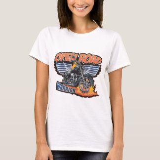 Open Road Warrior Motorcycle Wings T-Shirt