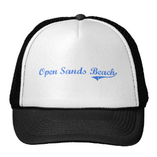 Open Sands Beach Florida Classic Design Trucker Hat