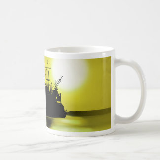 Open sea coffee mug