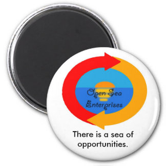 Open-Sea-Enterprises, There is a sea of opportu... Magnet
