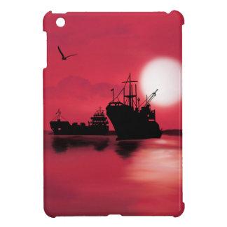 Open sea iPad mini cover