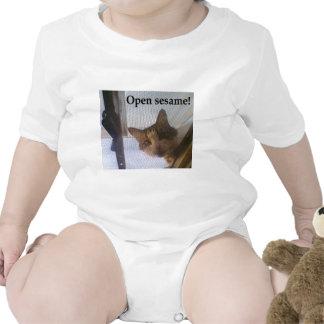 Open sesame! baby bodysuit