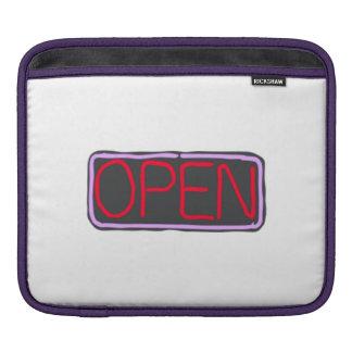 Open Sign iPad Sleeve