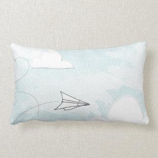 Open skies by VOL25 Lumbar Pillow