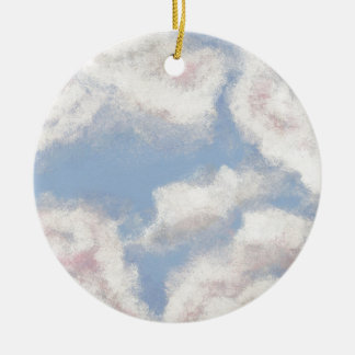 OPEN SKY! Add Personal Touches on My Painted Sky! Christmas Tree Ornament
