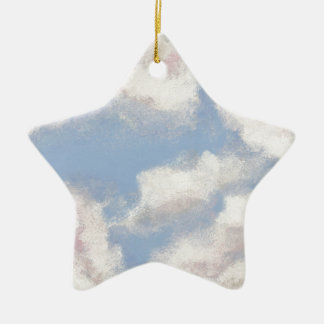 OPEN SKY! Add Personal Touches on My Painted Sky! Christmas Ornament