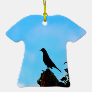Open Sky Open Mind bird and tree Christmas Ornament
