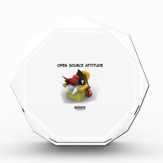 Open Source Attitude Inside (Duke Java Book Chair) Awards