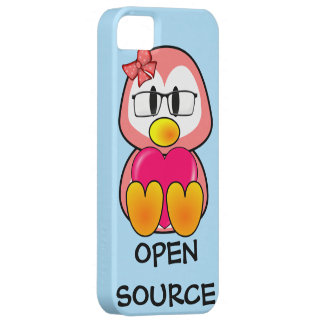 Open Source Chick (Women in Computing Technology) iPhone 5 Case