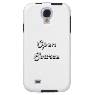 Open Source Classic Retro Design Galaxy S4 Case