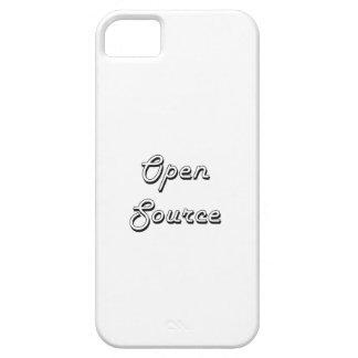Open Source Classic Retro Design iPhone 5 Case