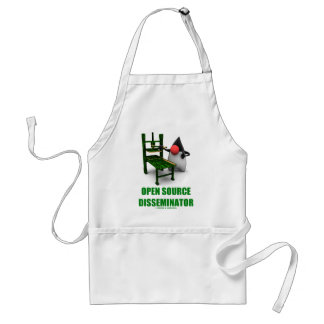 Open Source Disseminator (Open Source Duke) Adult Apron