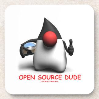 Open Source Dude (Software Developer Duke) Coaster