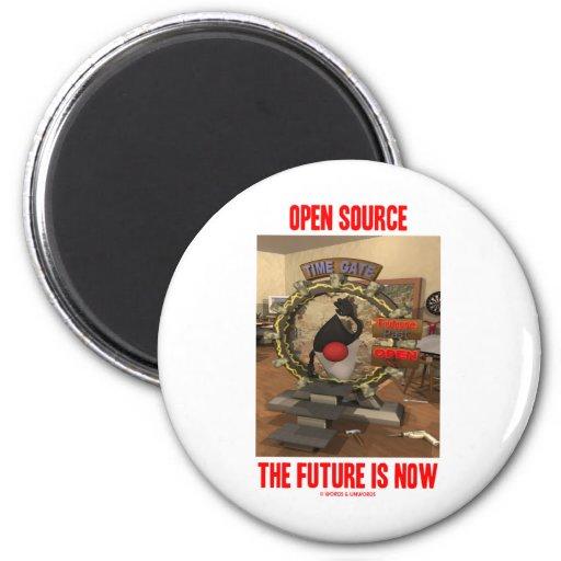 Open Source el futuro ahora está (el duque) Imán